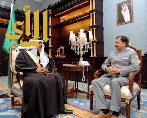 أمير منطقة الباحة يستقبل السفير الهندي لدى المملكة