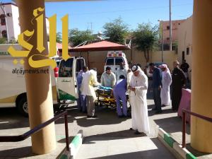 مستشفى الفرشة ينفذ 5 فرضيات وهمية لخطة الطوارئ والأخلاء