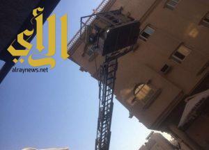 مدني الخبر يوقف عملية انتحار مقيمة
