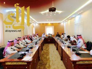 محافظ المندق : يعقد اجتماعا بلجان صيف المندق ١٤٣٧ هـ