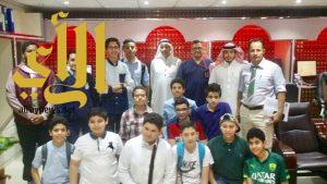 الهلال الأحمر بالمدينة المنورة يستقبل طلاب مدارس العقيق الأهلية