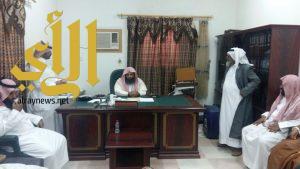 العماري يتفقد مكتب المساجد والدعوة والإرشاد بمحافظة طريب