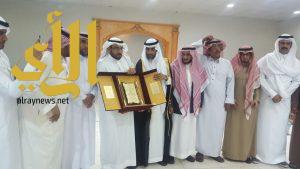 حفل تكريم للأستاذ علي بن شايع آل طالع الشهراني بمناسبة تقاعده بابتدائية الإخلاص