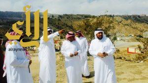 محافظ المندق : يستقبل مدير جامعة الباحة المكلف