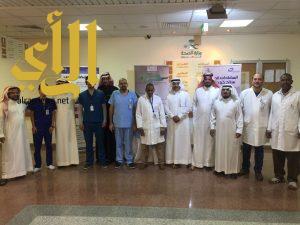 مستشفى القرى العام يشارك في الأسبوع العالمي للتوعية بالمضادات الحيوية