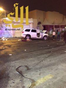مصرع إمرأة وإصابة ثلاثة آخرين بحادث سير على الدائري الشرقي بالرياض