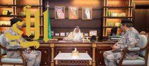 أمير منطقة الباحة يتسلم التقرير السنوي لإنجازات وأنشطة حرس الحدود