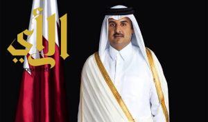 أمير دولة قطر يصل الرياض لتقديم واجب العزاء