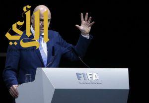 إنفانتينو يكرر إبداء رغبته في تطبيق التحكيم بالفيديو خلال كأس العالم 2018