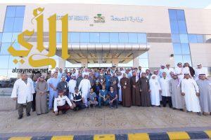 تشغيل مستشفى محافظة أحد رفيدة الجديد بسعة (100) سرير