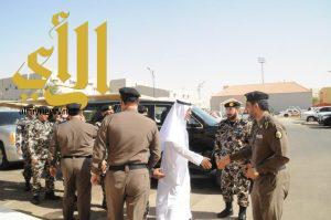 مدير شرطة منطقة الجوف يستقبل قائد قوات امن المنشآت