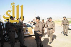 مدير شرطة منطقة الجوف يقوم بزيارة تفقدية لمقر شرطة المطار الجديد