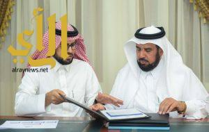 مدير جامعة الباحة يطلق برامج تدريبية باستهداف أكثر من 600 من موظف وموظفة بالجامعة