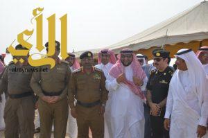 بلدية محافظة الخبر والدفاع المدني يقيمان تجربة فرضية لخطة الأمطار 1438هـ