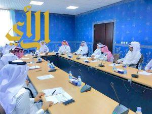 لجنة التدريب والتعليم الأهلي تعقد إجتماعها الاول للدورة الجديدة وال عطشان رئيساً لها