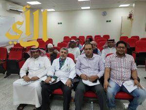 """فريق الجودة بصحة الباحة يعقد ورشة عمل """"إعداد خطة ESR"""""""
