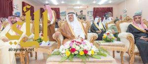 """أمير منطقة الباحة يحضر الأمسية الثقافية """"تجربتي بتويتر"""""""