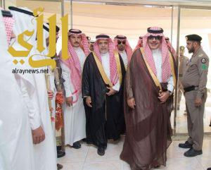 سمو أمير الباحة يطّلع على سير العمل في محافظة المخواة
