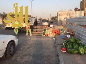 بلدية غرب الدمام : تضبط 8 مخالفين من خلال حملة تفتيشية على الباعة الجائلين