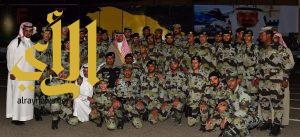 أمير منطقة نجران يرعى حفل تخريج دورة مهام وواجبات قوات الطوارئ الخاصة بالمنطقة