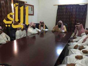 مدير الشؤون الإسلامية بجازان يتفقد إدارة المساجد بمحافظة الريث