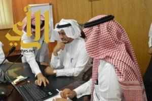 مدير تعليم صبيا يدشن الموقع الإلكتروني لتسجيل التسرب بين المراحل