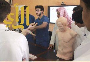 """المنظمة العربية للهلال الأحمر والصليب الأحمر تدشن برامج (انعاش) لمدارس """"التعليم العام"""""""