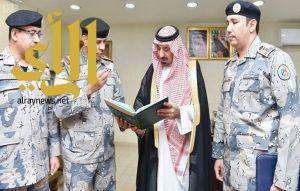 أمير نجران يستقبل قائد حرس الحدود بالمنطقة ويتسلم التقرير السنوي