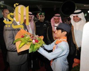 ملك السويد يصل الرياض