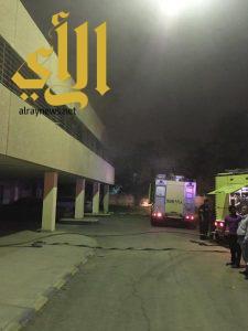 السيطرة على حريق بسكن طبيبات مستشفى الملك خالد في الخرج
