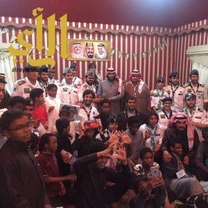 جوالة جامعة الملك خالد يزورون دار التربية الإجتماعية بأبها
