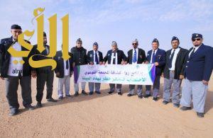 رواد كشافة المجمعة يطلقون مبادرة للتوعية بمخاطر الاحتطاب الجائر