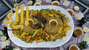 """"""" العريكة """" وجبة الشتاء في وادي الدواسر إكرام ضيف وفائدة غذائية"""