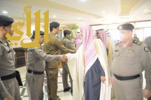 مدير شرطة منطقة الجوف يستقبل معالي رئيس هيئة التحقيق والادعاء العام