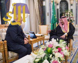 خادم الحرمين الشريفين يتسلم رسالة من ملك الأردن