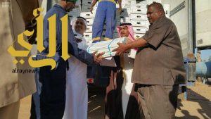 المملكة تسلم السودان عشرة آلاف ذبيحة لتوزيعها على الفقراء