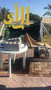 أمانة الشرقية تزيل 30 مظلة وطاولة من الواجهة البحرية بالدمام للباعة الجائلين المخالفين