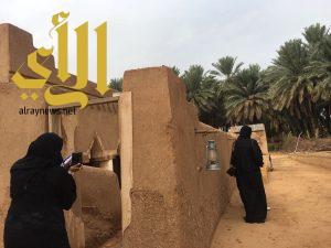 عدسات اعلاميات الخليج ترصد معالم القصيم التراثية والسياحية