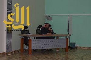 وفد طلابي يزور مستشفى النفسية بأبها ويطلع على الخدمات المقدمة للنزلاء