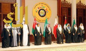 قادة دول مجلس التعاون الخليجي يعقدون اجتماعاً مشتركاً مع رئيسة وزراء بريطانيا
