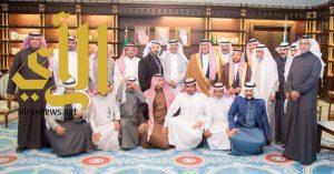 أمير الباحة يستقبل إعلاميو المنطقة