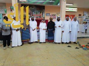 مدرسة زيد بن الخطاب بالمعش تنظم برنامج اليوم المفتوح