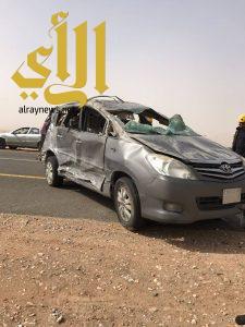 مصرع ثلاثة أشخاص وإصابة 12 آخرين بحادثين مرورين بمحافظة بيشة