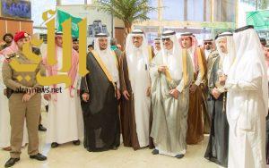 أمير الباحة يدشن عدداً من المشروعات التعليمية بمحافظات القطاع التهامي بالباحة