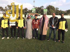 رئيس نادي الزيتون يكرم مدرب ولاعبي الكاراتيه الدرجة الاولى لتأهله للدوري الممتاز
