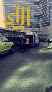 السعودية للكهرباء والهلال الأحمر تنفذا خطة فرضية في برج غرناطة بالرياض