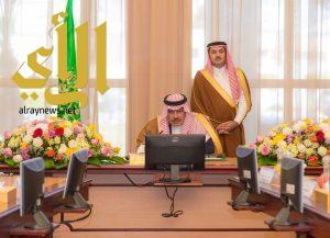 أمير الباحة يرأس جلسة مجلس المنطقة في دورته الثالثة والختامية للعام الحالي