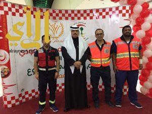 الهلال الأحمر بالجوف يشارك باليوم العالمي للتطوع ويكرم ذوي الشهداء