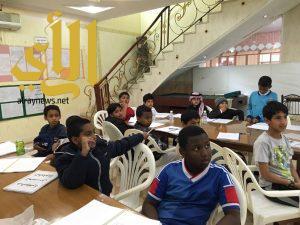 لجنة التنمية الإجتماعية بالظفير تقيم دورة تحسين الخط العربي