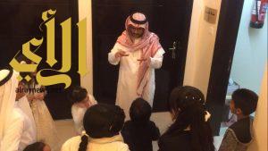 فرع وزارة العمل والتنمية الإجتماعية بمنطقة الباحة يحتفي بمبادرة الموظف الصغير